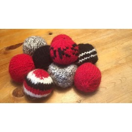 Strikkede Hacky Sacks